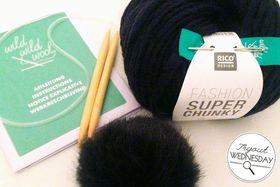 Tryout Wednesday: Mütze stricken mit dem Strick-Kit von Woolmarket / Bild: Jakre