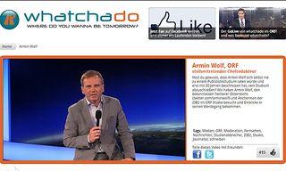 Armin Wolf / Bild: Whatchado.net